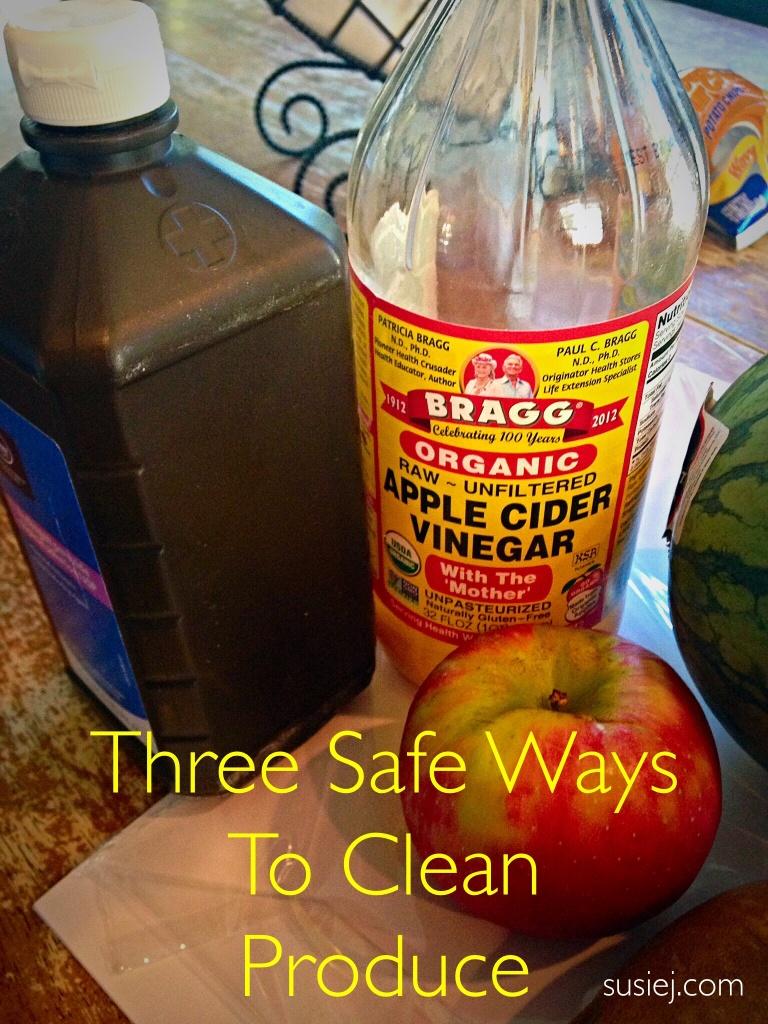 Susiej Three Ways to Wash Produce