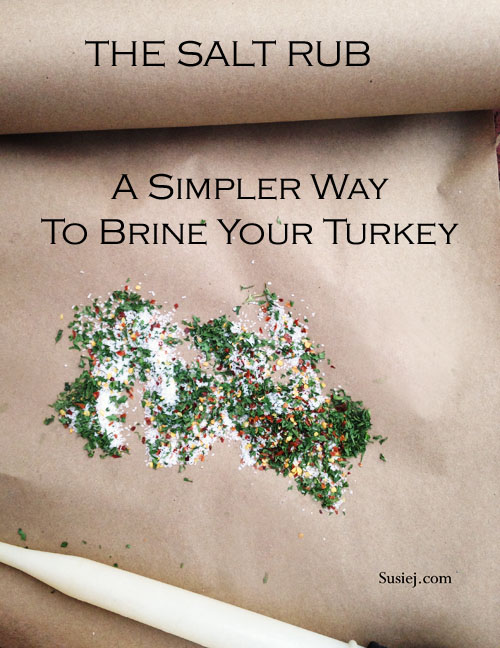 turkey salt rub/ susiej.com
