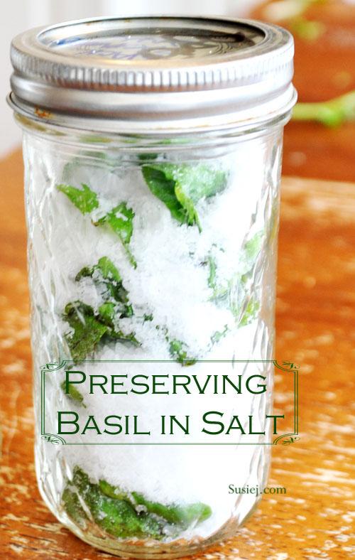 Susiej: Salt Preserved Basil
