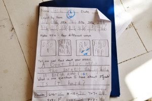 kid writing001