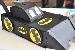 Bat Mobile Valentine Box