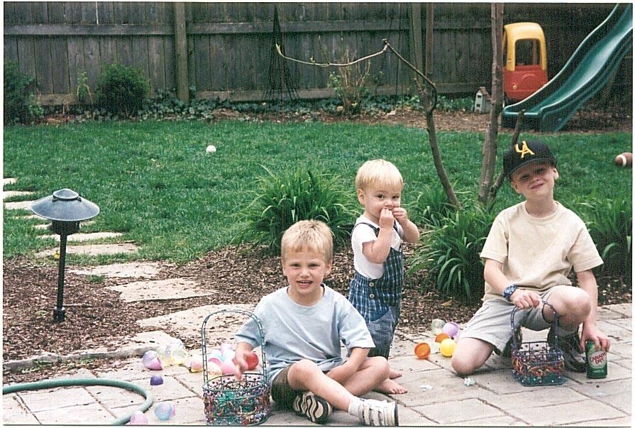 Backyard Easter Egg Hunt
