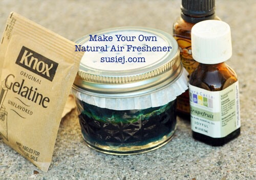 Natural DIY Gel Air Fresheners