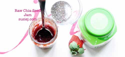 Raw Strawberry Chia Jam