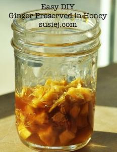 Fermented Ginger In Honey