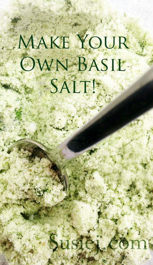 Susiej Basil salt