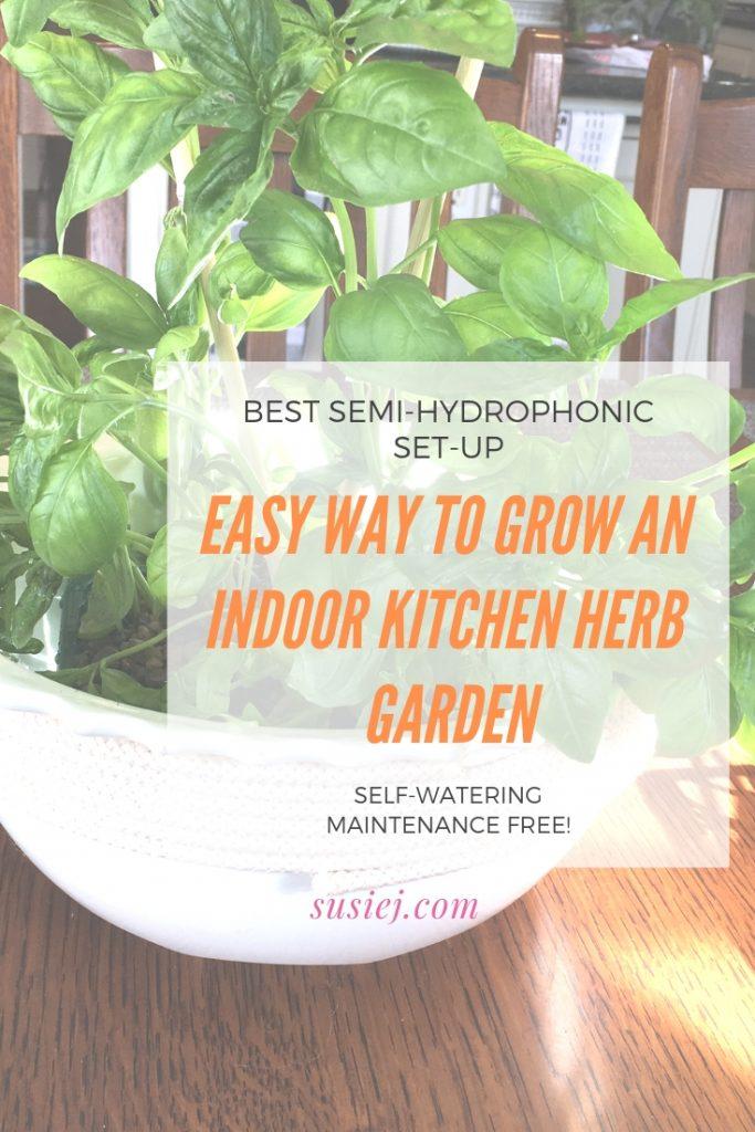 The Easy Way to Grow An Indoor Kitchen Herb Garden: Best ...